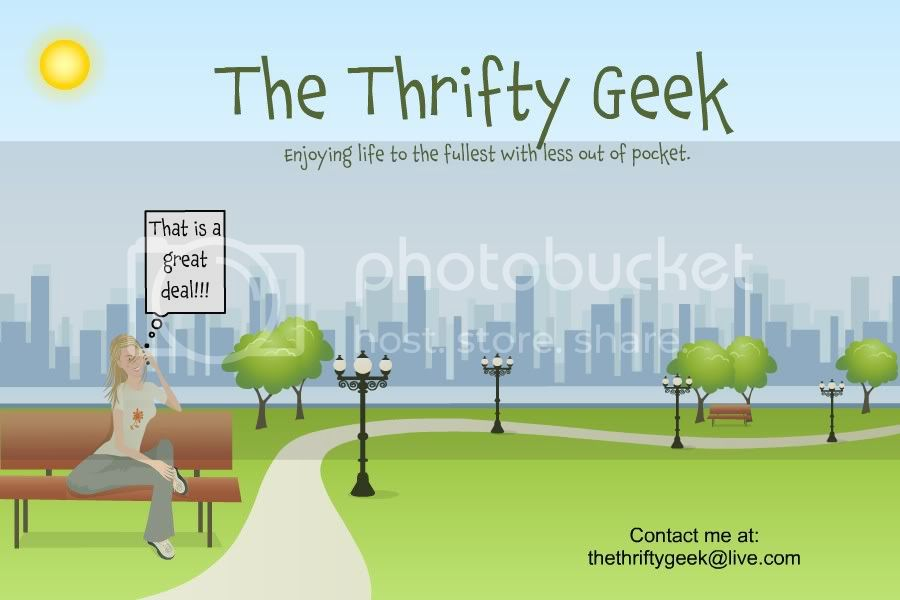 The Thrifty Geek