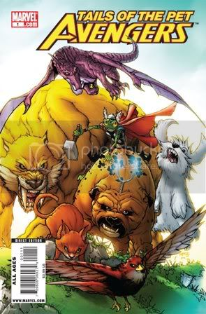 tailsofthepa01 Tails of the Pet Avengers (One Shot) (2010) Marvel Comics
